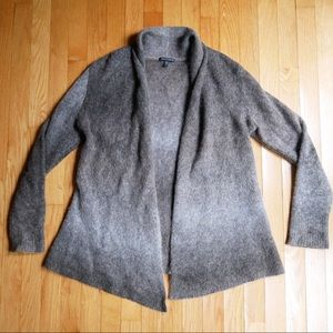 Eileen Fisher open knit gradient cardigan size s